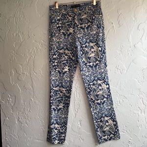 Ralph Lauren Black Label Floral Pants